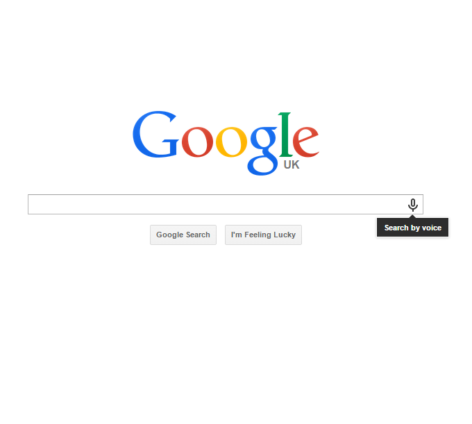Google Voice Search Feature